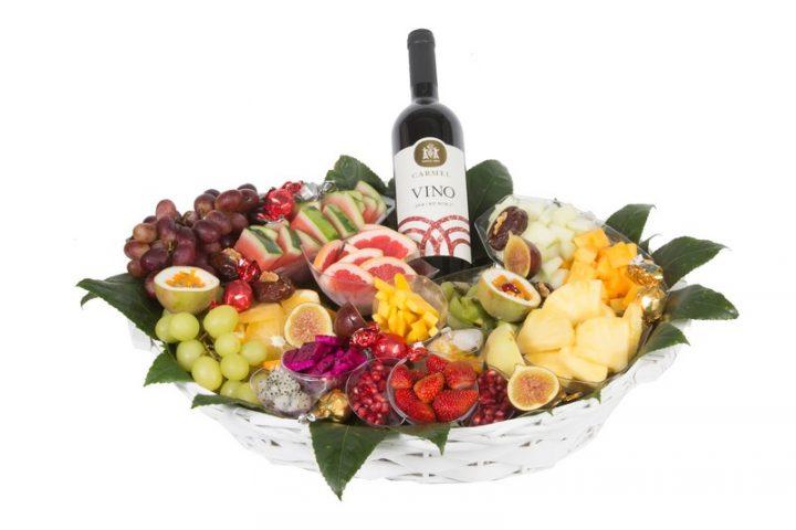 סלסלת פירות יין - ליצ'י